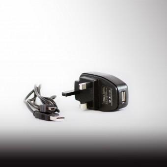 White's USB UK Plug Adapter
