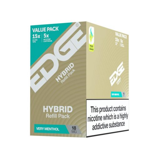 EDGE Hybrid - Very Menthol Eliquid Pod - Pack of 5